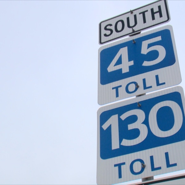 130 toll sign_87408
