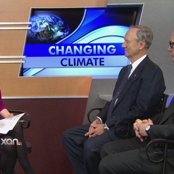 Military leaders talk about the threat of climate change