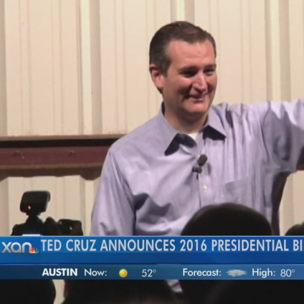 Alana Rocha with the Texas Tribune Talks about Ted Cruz's announcement