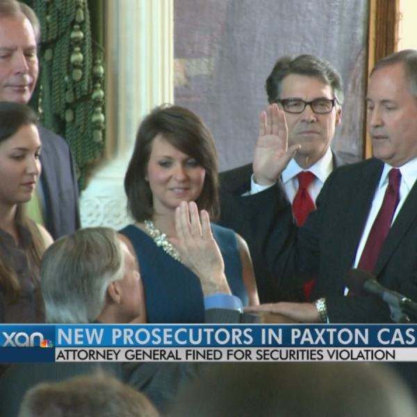 New prosecutors in AG Paxton probe after friend's recusal