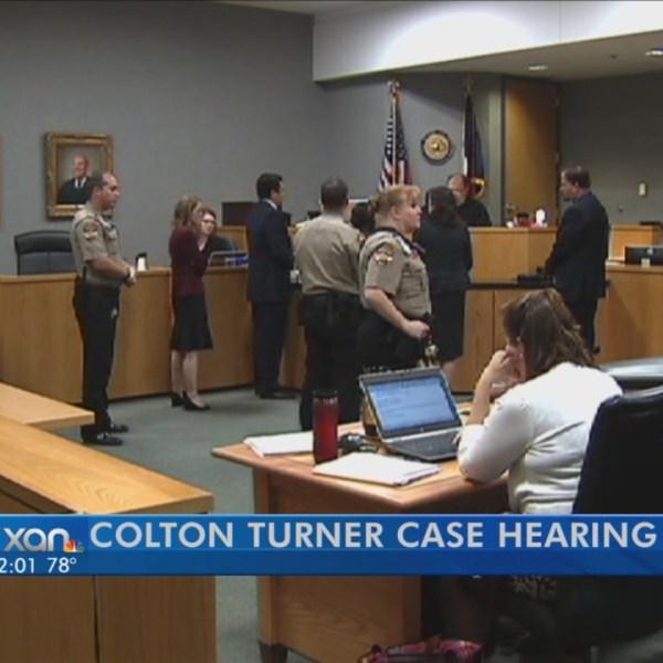 Colton Turner case hearing