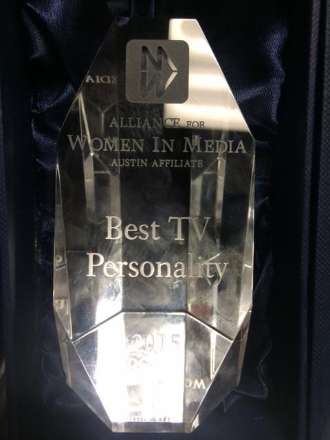 Austin Alliance for Women in Media award_117783