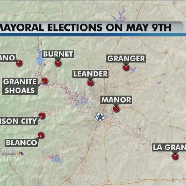 May 9 is Election Day