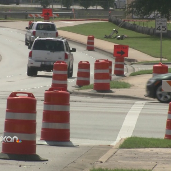 Construction starts on Lakeline Boulevard in Cedar Park