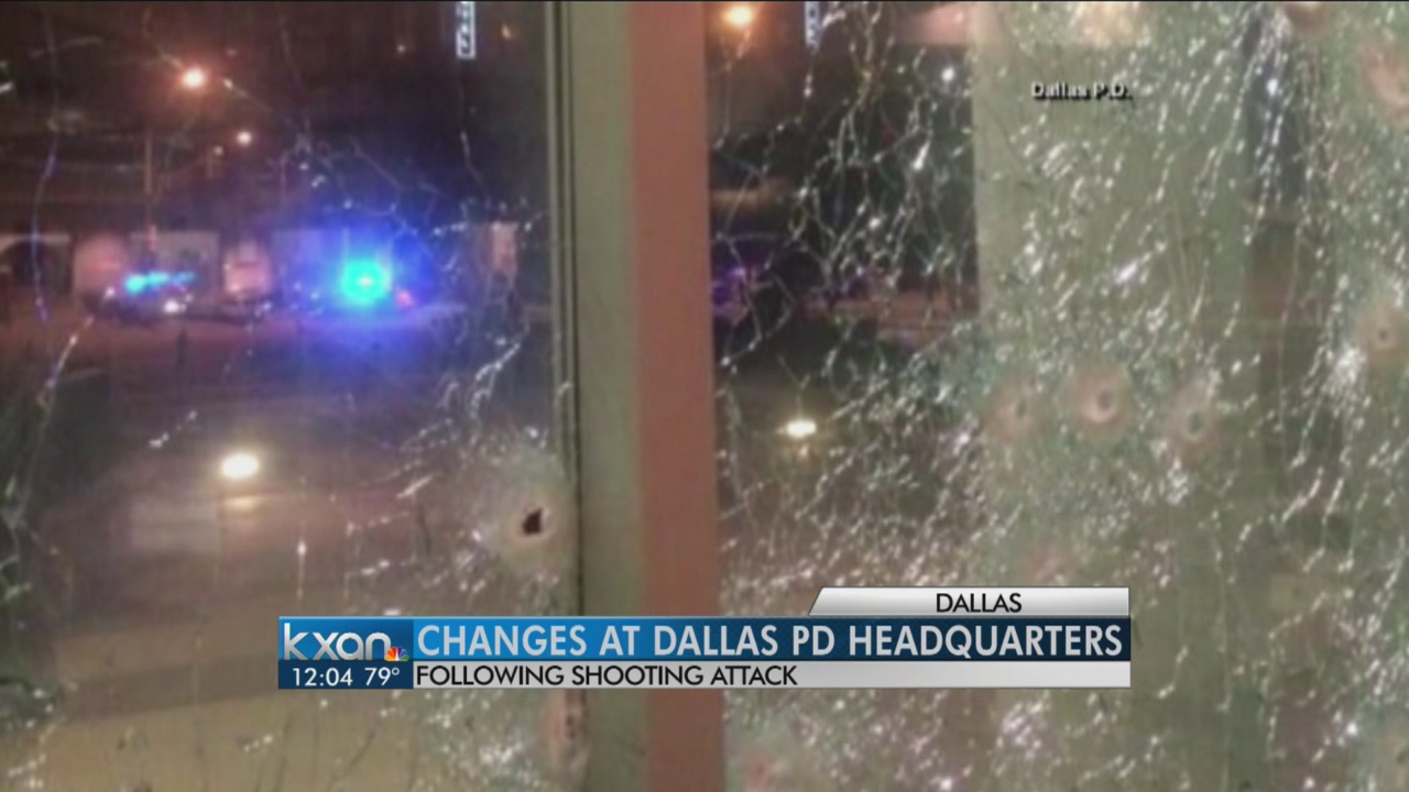 Changes at Dallas PD Headquarters
