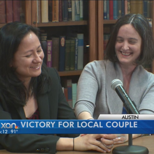 Gay marriage couple have been fighting for same-sex marriage for years