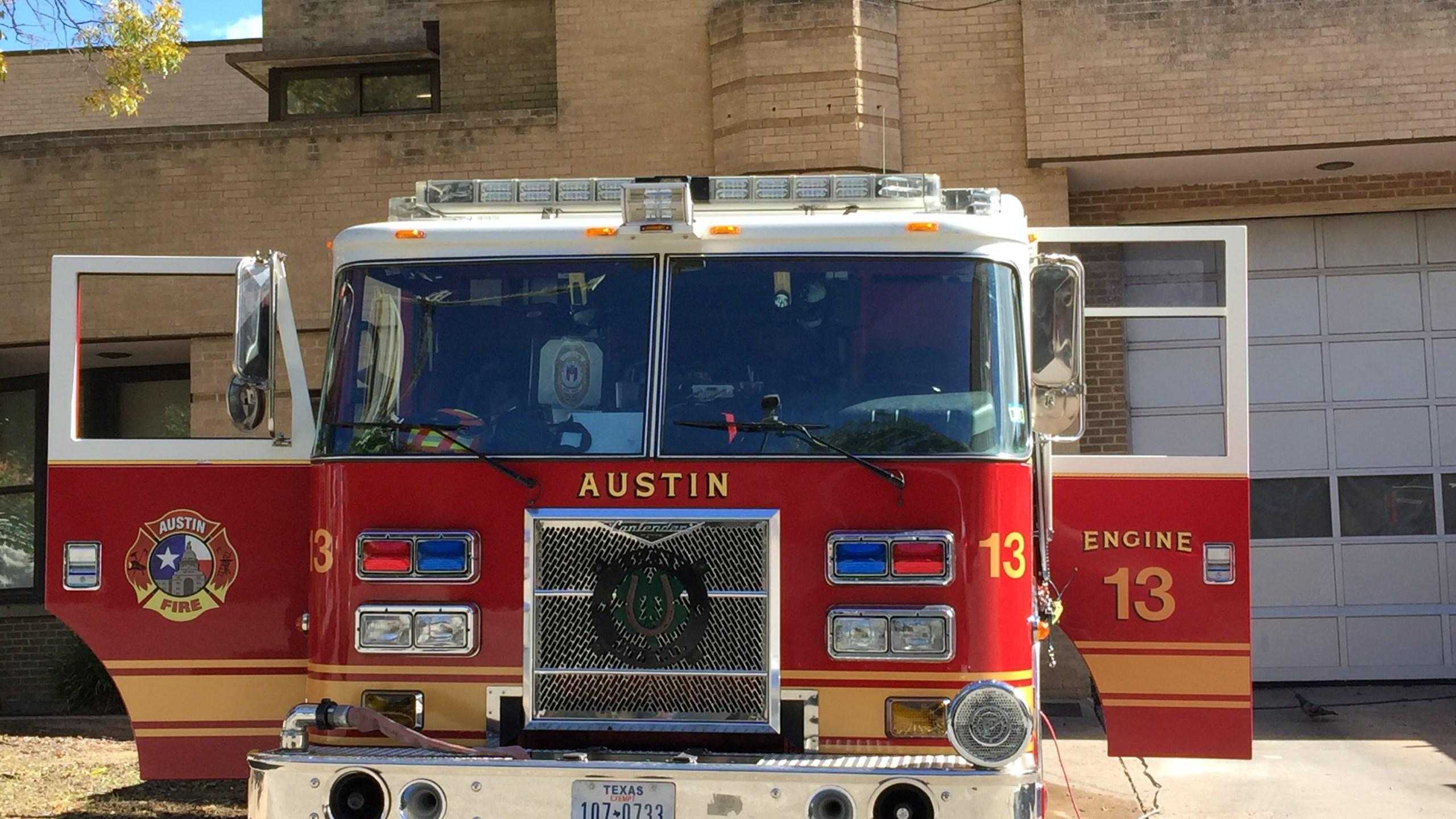 AFD fire truck Austin Fire Department_106863