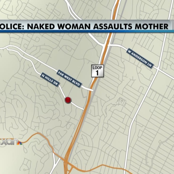 Police: Naked woman assaulted two at apartment pool