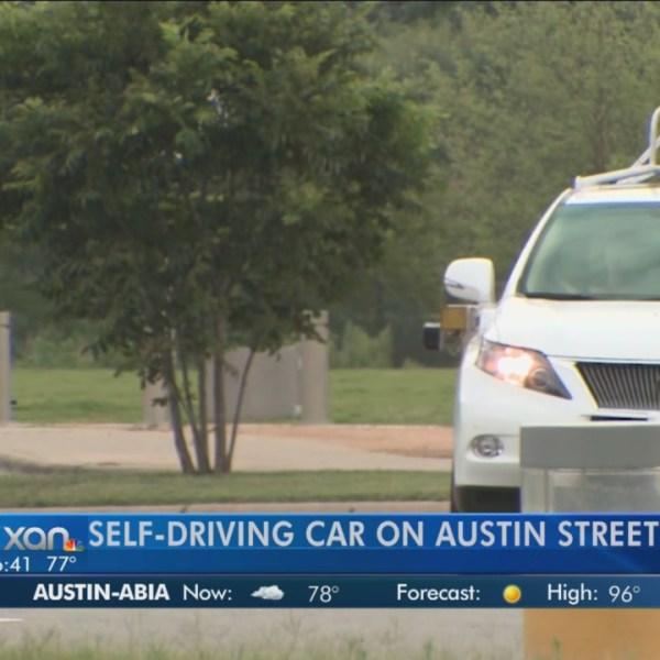 Google Self-driving car crashes in California