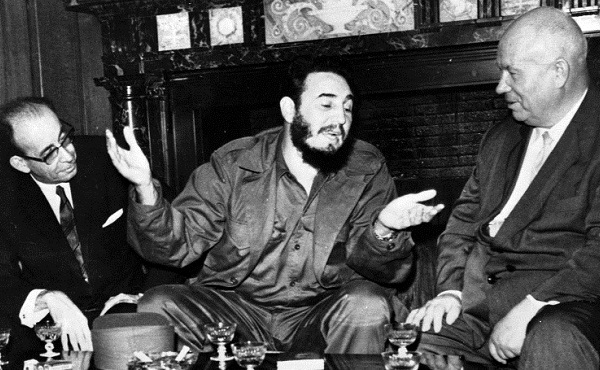 Fidel Castro, Nikita khrushchev, Raul Roa_153960