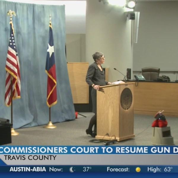 Continuing gun debate