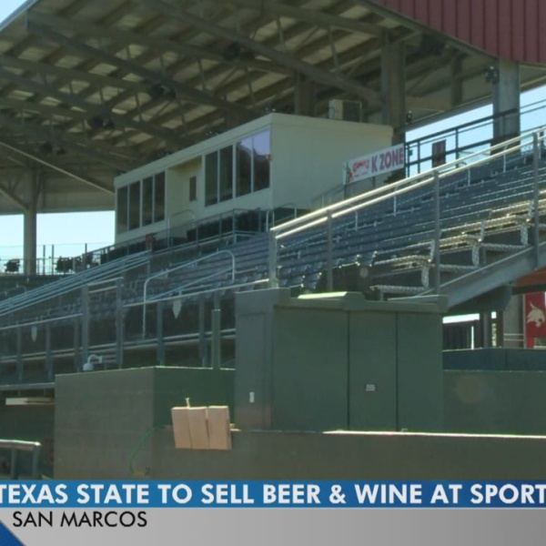 Texas State fans will soon be able to enjoy beer and wine at games