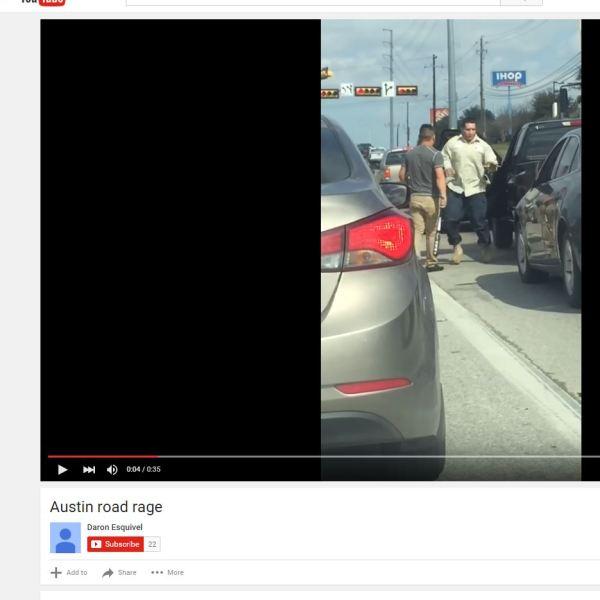 Austin Road Rage incident caught on camera_235720