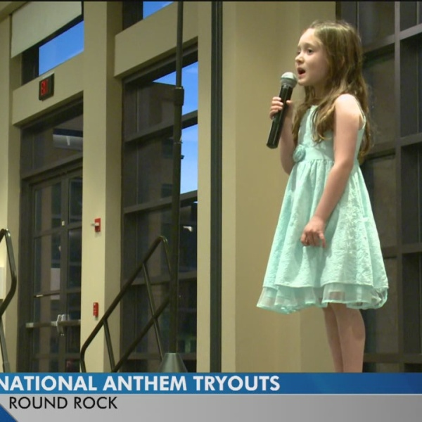 Round Rock Express holds auditions for national anthem