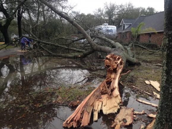St. Mary Parish, La. storm damage_248731