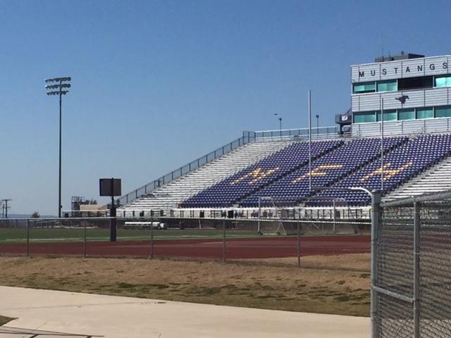 Marble Falls High School football stadium_246148