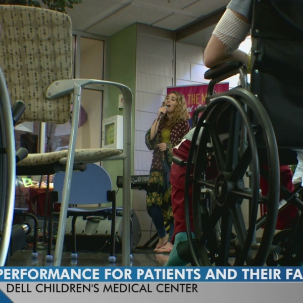 A bit of SXSW brought to Dell Children's Medical Center
