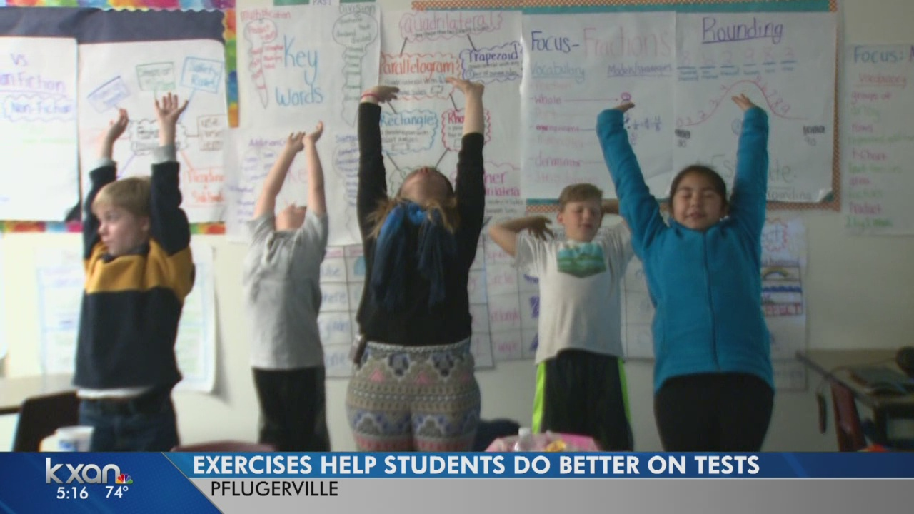 Mindful Classroom program calms students before testing
