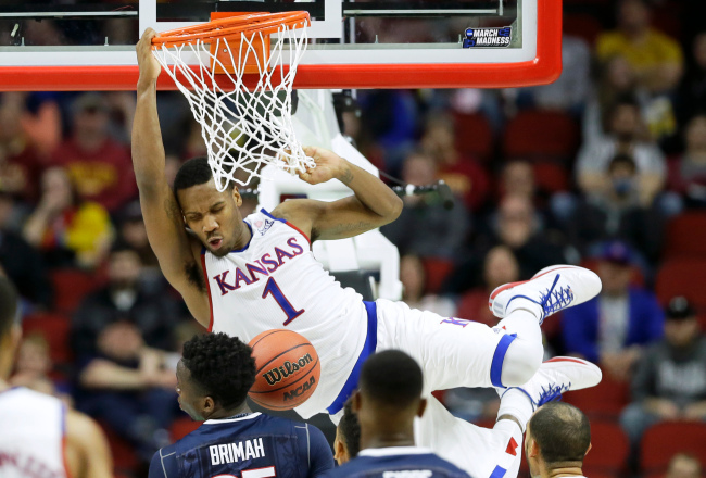 NCAA UConn Kansas Basketball_261749