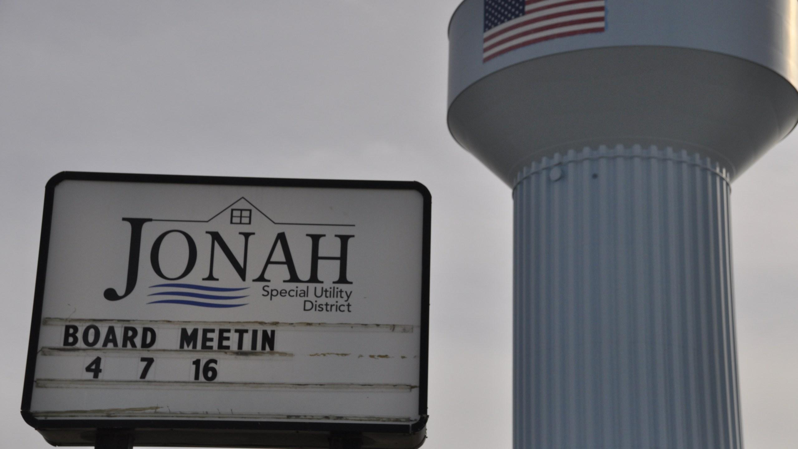 Jonah, Texas water tower_262806