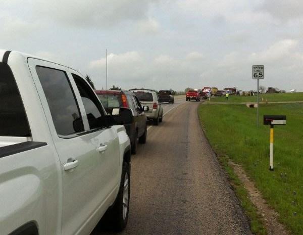 FM 973 horse trailer crash near Manor_259842
