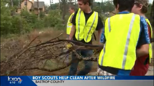 Boy Scouts Bastrop Fire Cleanup_272404
