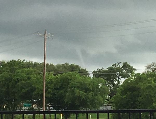 Tropical funnel in Liberty Hill_273264