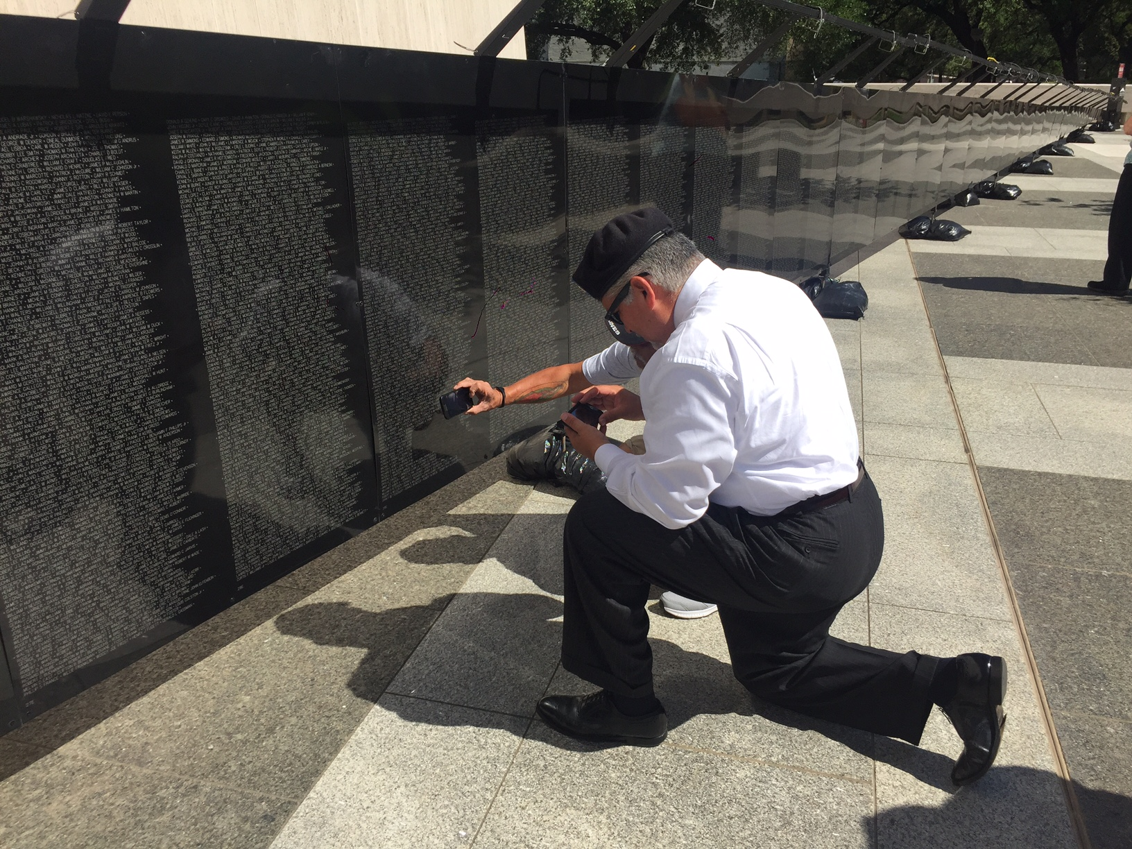 Vietnam Veterans Memorial replica_275398