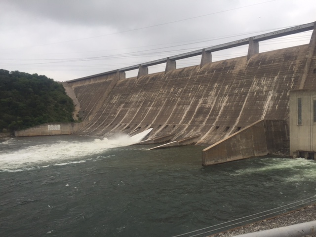 Large law enforcement presence responding to situation near Mansfield Dam