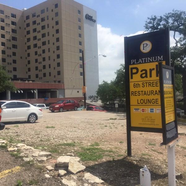Parking lot on E. 8th Street_276294