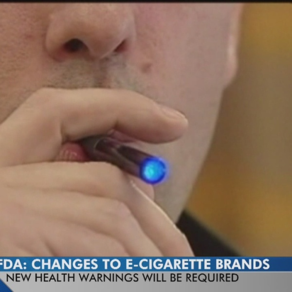 FDA rules state anyone under 18 will be banned from buying e-cigs