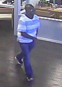 Suspect robbed the bank on May 4, 2016. (APD)