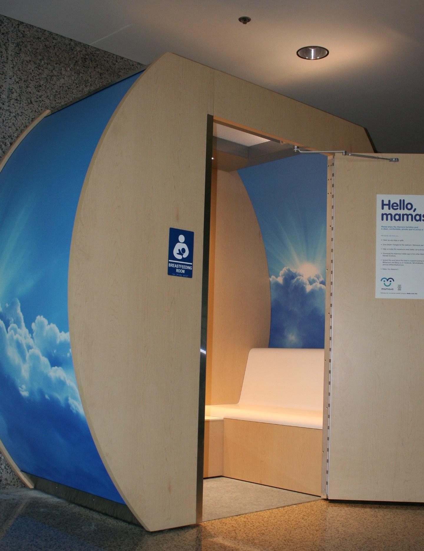 Breast feeding station at Austin Airport_281730