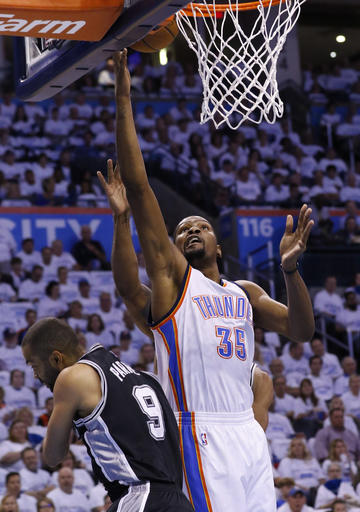 Spurs Thunder Basketball_282420