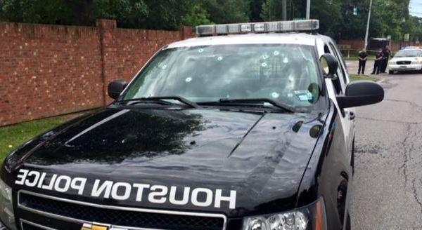 Houston Police Department patrol car damage_292768