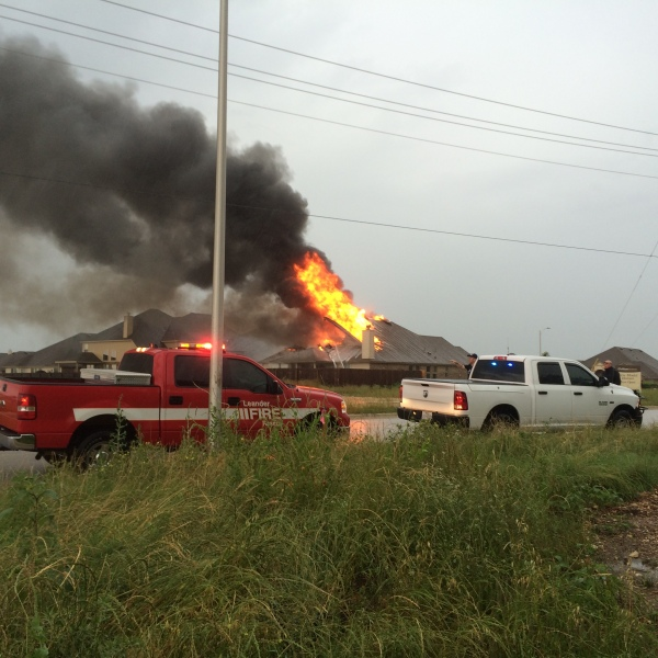Leander house fire sparked by lightning_285287
