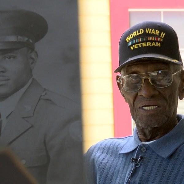 Richard Overton, America's oldest veteran turns 110_281961