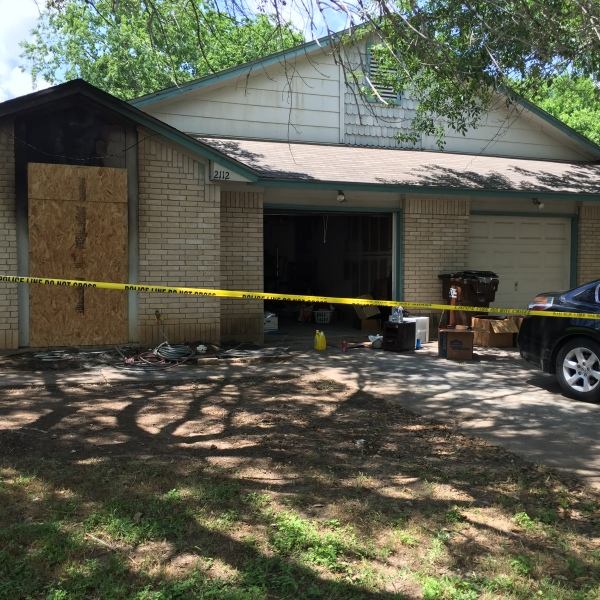 A home was intentionally set on fire on Redwing Way in Round Rock on Saturday, May 7_282745