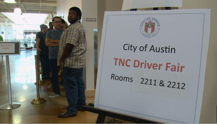 Austin Transportation Department holds TNC job fairs at ACC Highland campus_286523