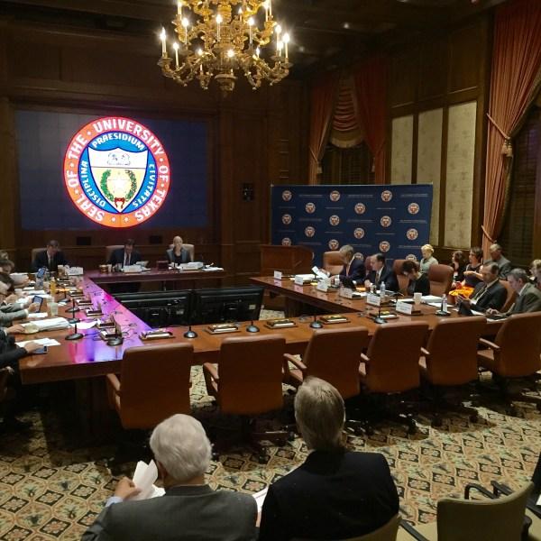 UT Board of Regents postpones vote on campus carry policies_284129