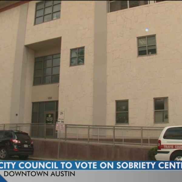 City Council to vote on sobriety center