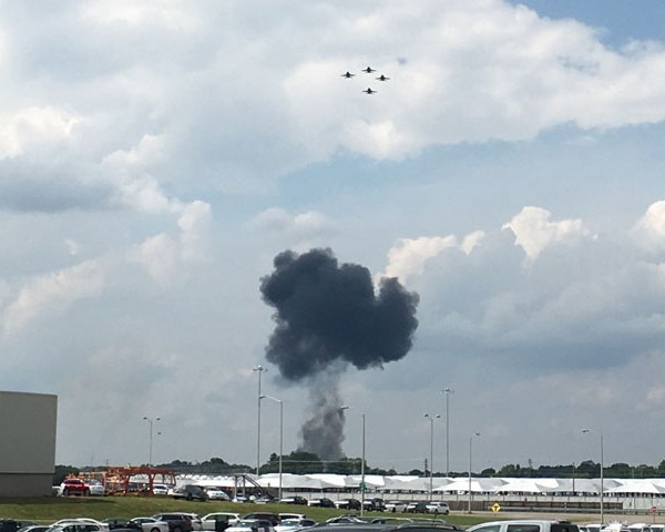 Blue Angels crash - Courtesy_ Matt Bennett_293847