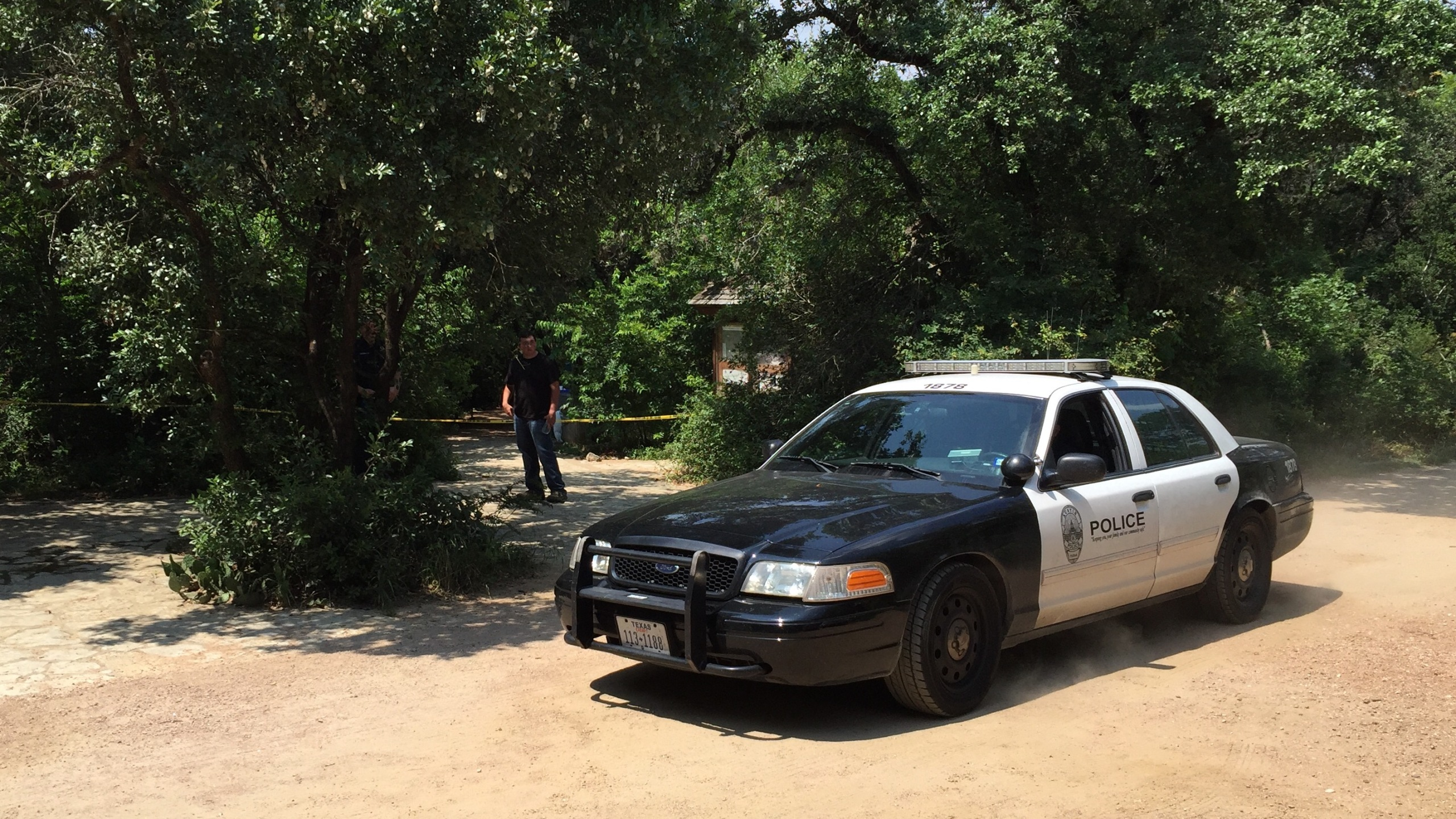 Crews searched Barton Creek for over an hour Saturday, June 11 before finding the body of a teenage boy that went missing while swimming._297994