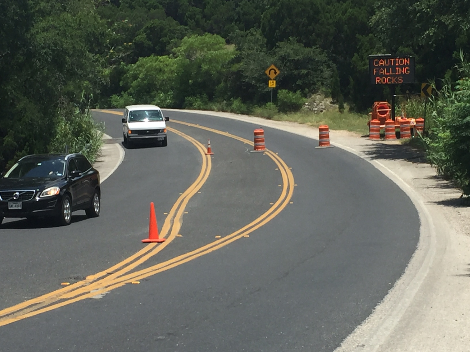 Redbud Trail construction underway to keep drivers safe from falling rocks_298623