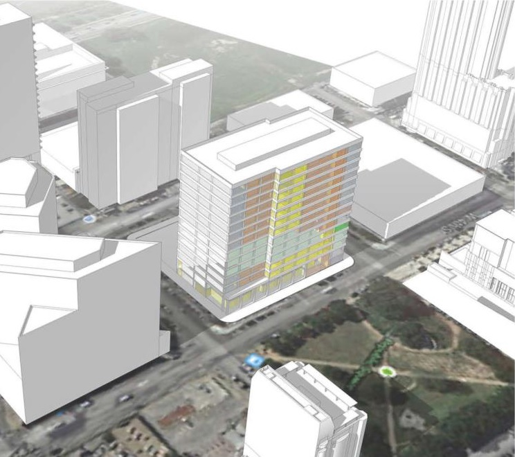 Rendering of new Travis County Civil and Family Courthouse_152175
