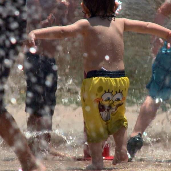 Pease Park splash pad water_299825