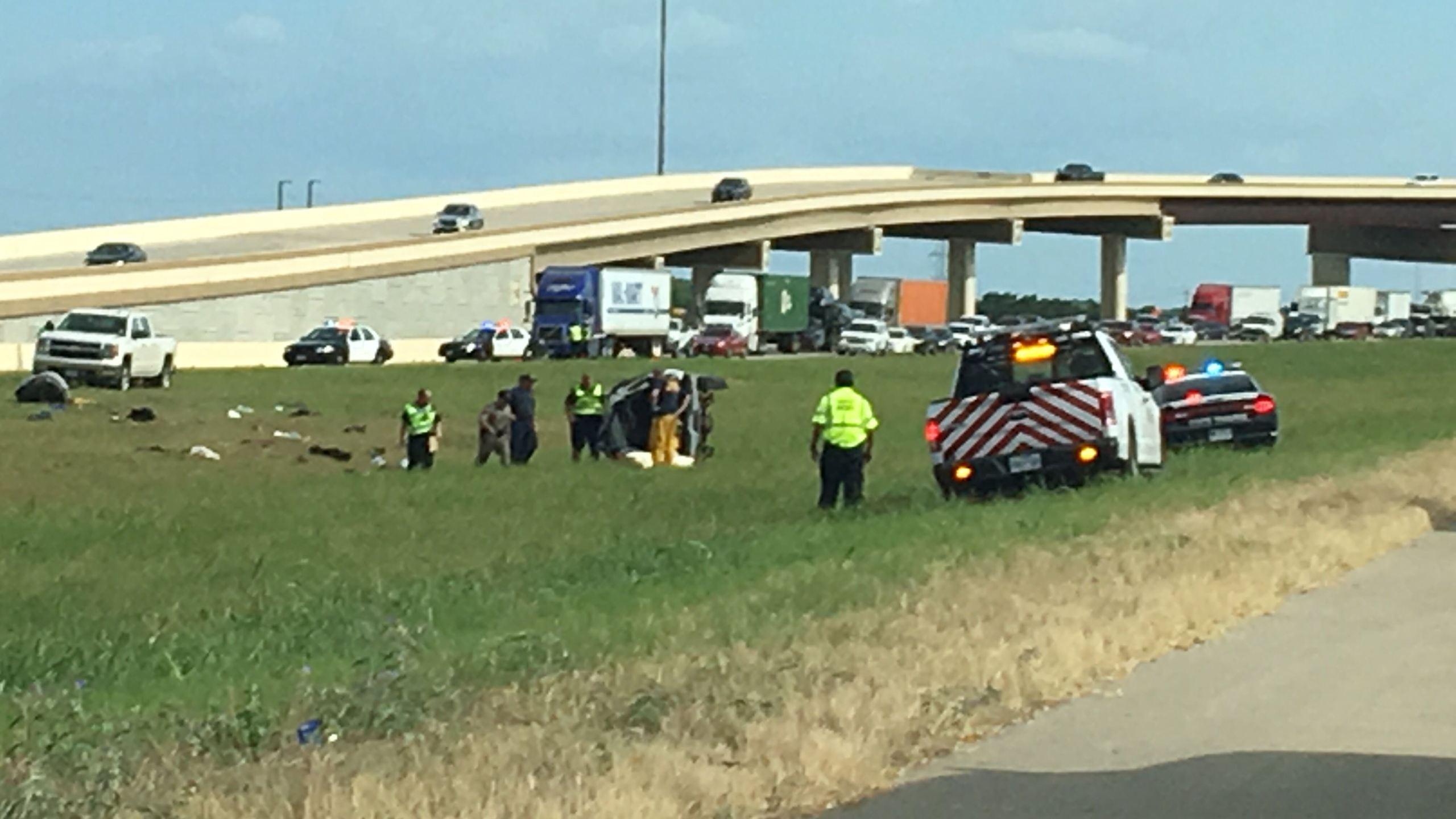 Deadly rollover crash on SH 130 near SH 71, July 20, 2016_314650