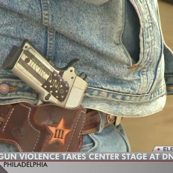 Texas Democrats at DNC make anti-gun stance clear