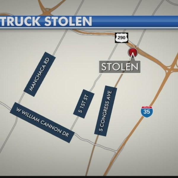 Man steals Southwest Austin taco truck