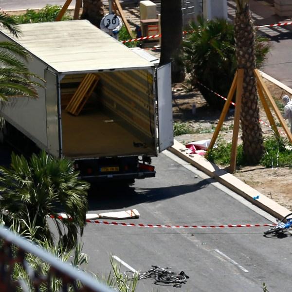 APTOPIX France Truck Attack_312590